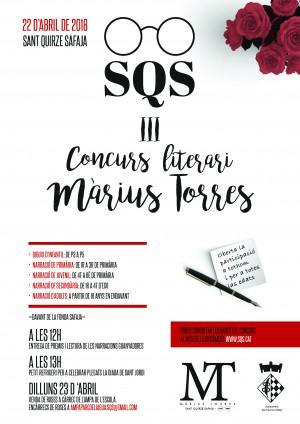 III Concurs literari Màrius Torres