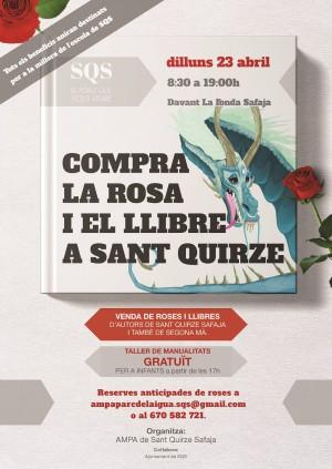 Diada de Sant Jordi a Sant Quirze Safaja