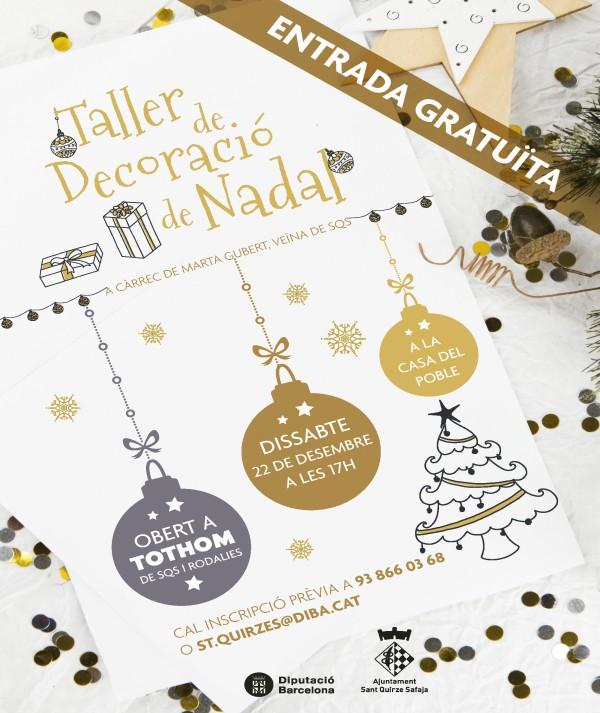 Taller de decoració de Nadal