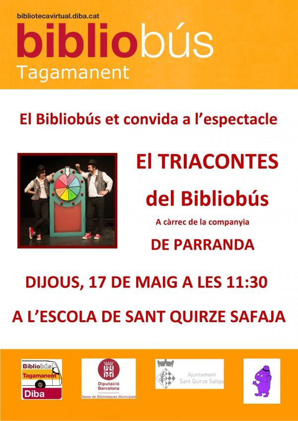 Espectacle infantil amb el Bibliobús