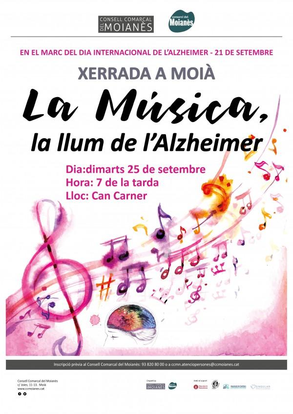 """Xerrada """"La música: la llum de l'Alzheimer"""""""